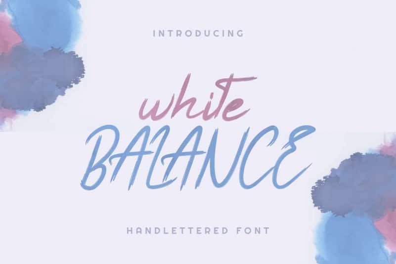 White Balance Demo