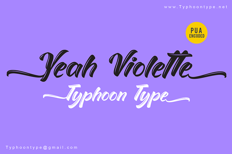 Yeah Violette - Personal Use