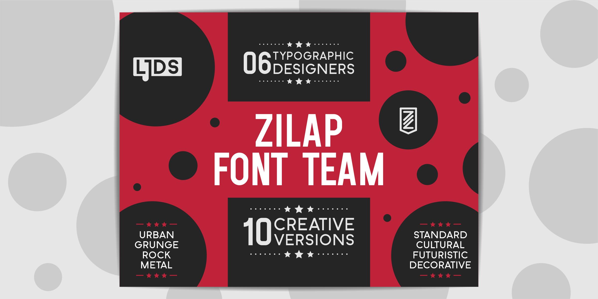 Zilap Font Team DEMO