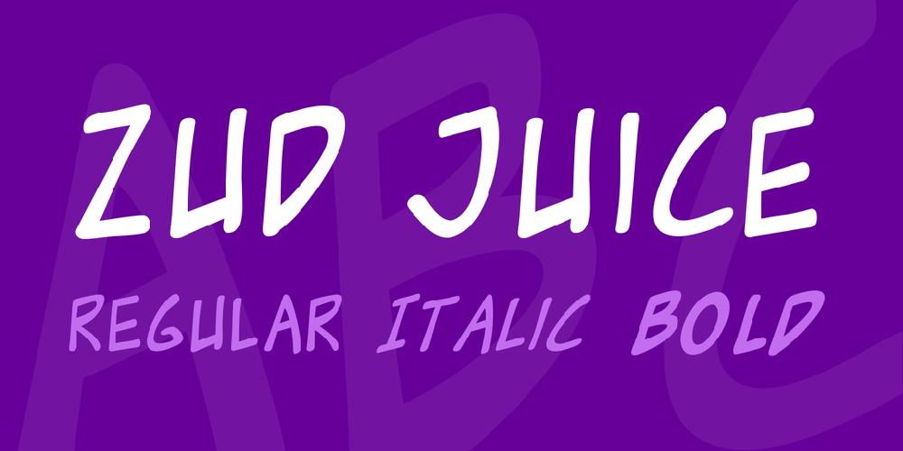 Zud Juice